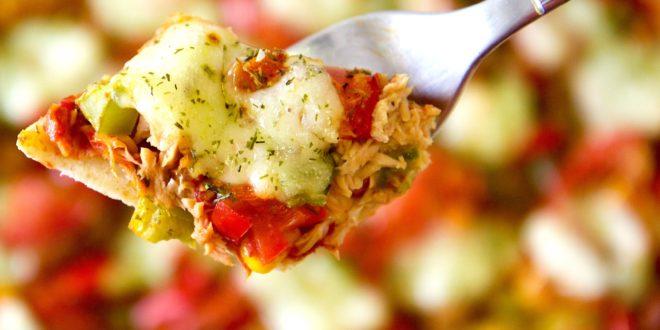 Recette traditionnelle de la pizza Mozzarella et version allegée