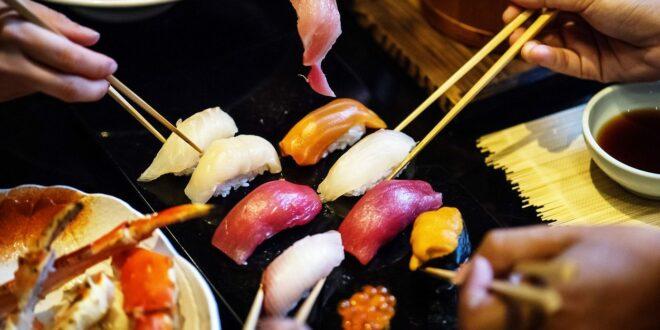 Les sushis font ils grossir? Je réponds à cette question régulière