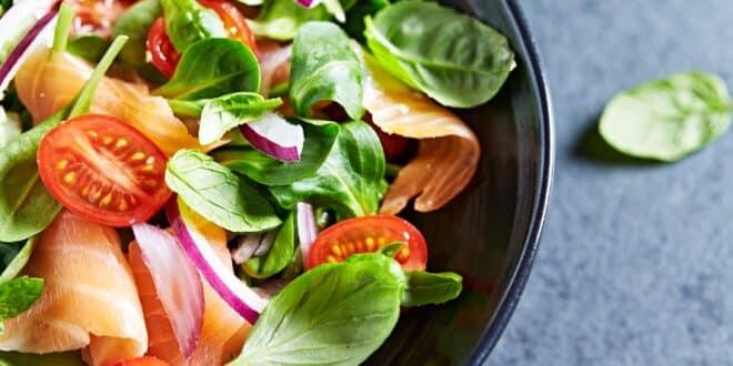 Comment se préparer une salade vraiment diététique?